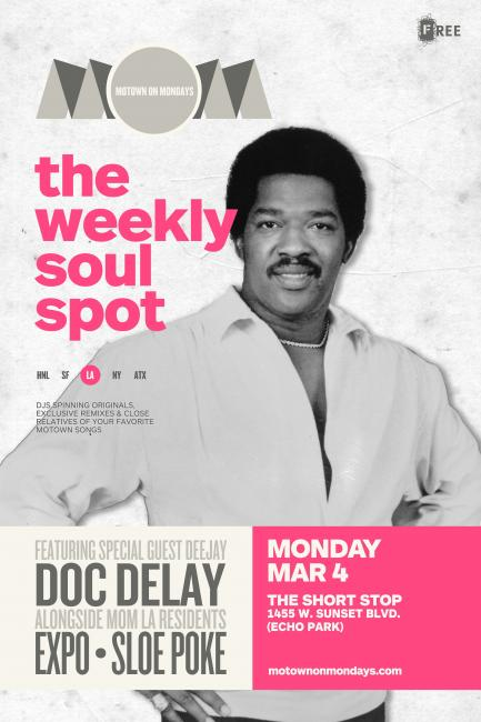 Motown On Mondays Doc Delay