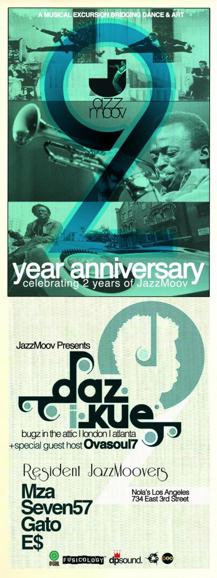 JazzMoov's 2 Year Anniversary