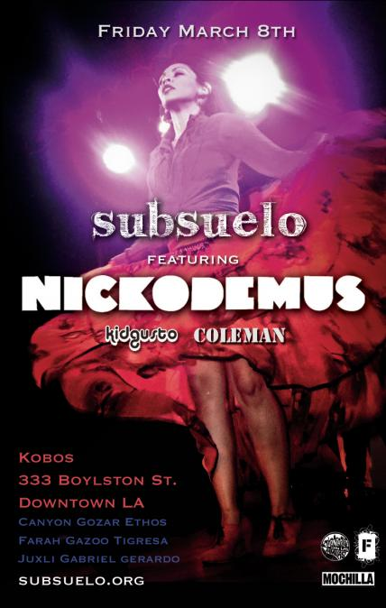 Subsuelo w/sg Nickodemus & Coleman