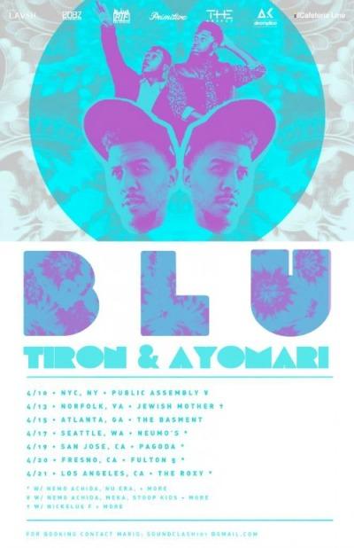 Blu x TiRon & Ayomari Tour