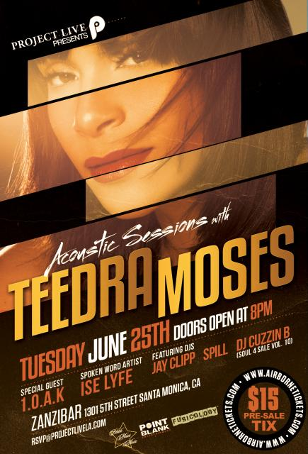 June 25th - Teedra Moses