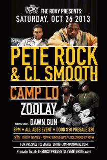Pete Rock & CL Smooth, Camp Lo, Zoolay